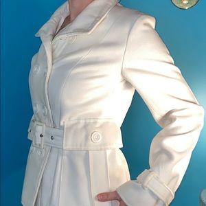 Rue 21 white wool jacket